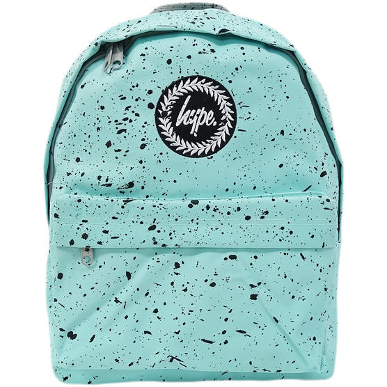 Hype Mint with Black Bag - Black Boys / Girls Backpack, Rucksack - Splatter Thumbnail 1