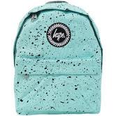Hype Mint with Black Bag - Black Boys / Girls Backpack, Rucksack - Splatter