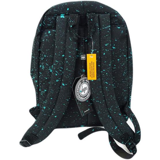 Hype Black with Mint Bag - Boys / Girls Backpack, Rucksack - Splatter Thumbnail 2