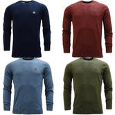 Henri Lloyd Lightweight Plain Knitted Jumper Miller