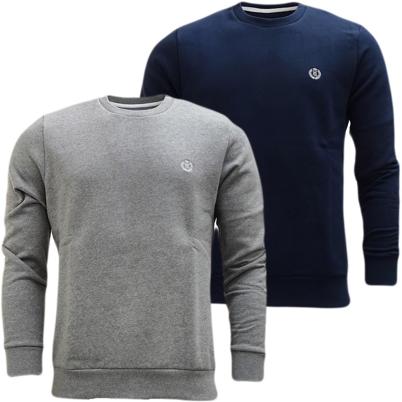 Henri Lloyd Plain Sweatshirt - Soft Cotton Jumper Bredgar