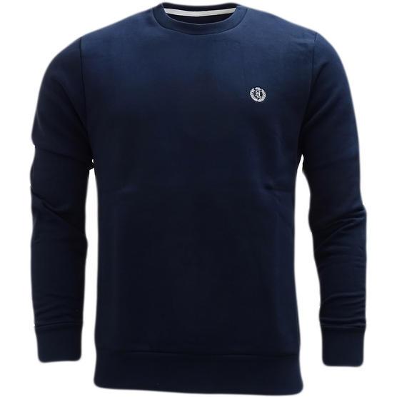 Henri Lloyd Plain Sweatshirt - Soft Cotton Jumper Bredgar Thumbnail 2