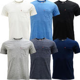 Levi Strauss Plain Sunset Pocket Tee / Levi'S T-Shirt 29813