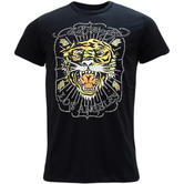 Ed Hardy Black Tiger Logo T-Shirt La-Tiger -