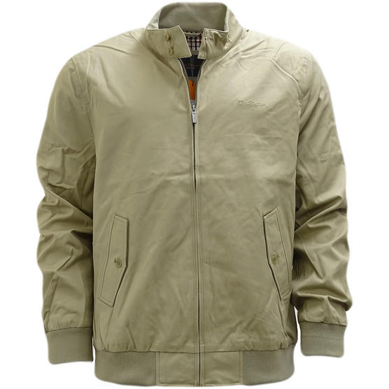 Ben Sherman Plain Script Harrington With Gingham Lining jacket - 47982 Thumbnail 6