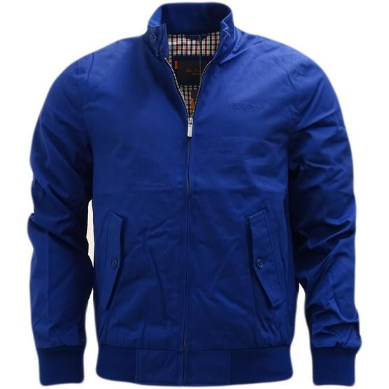 Ben Sherman Plain Script Harrington With Gingham Lining jacket - 47982 Thumbnail 3