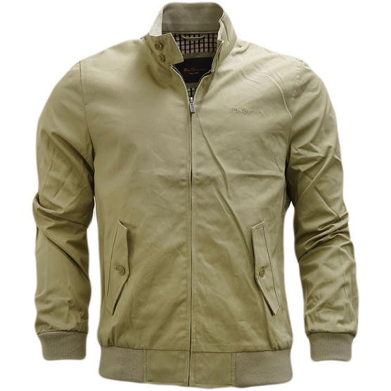 Ben Sherman Plain Script Harrington With Gingham Lining jacket - 47982 Thumbnail 4