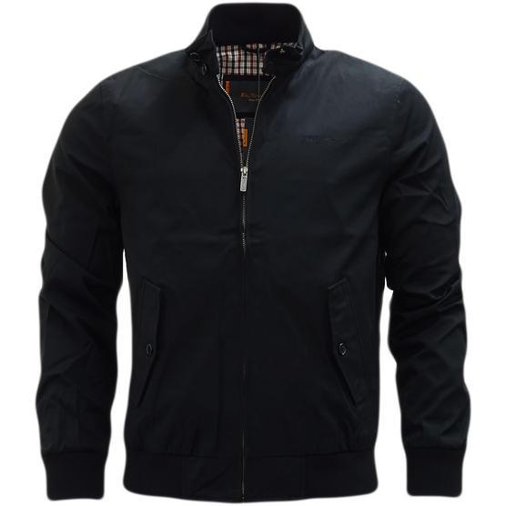 Ben Sherman Plain Script Harrington With Gingham Lining jacket - 47982 Thumbnail 2