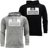 Weekend Offender Overhead Hooded Sweatshirt Jumper Service
