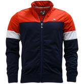 Weekend Offender Navy Full Zip Track Top / Tracksuit Jumper  Hardy -