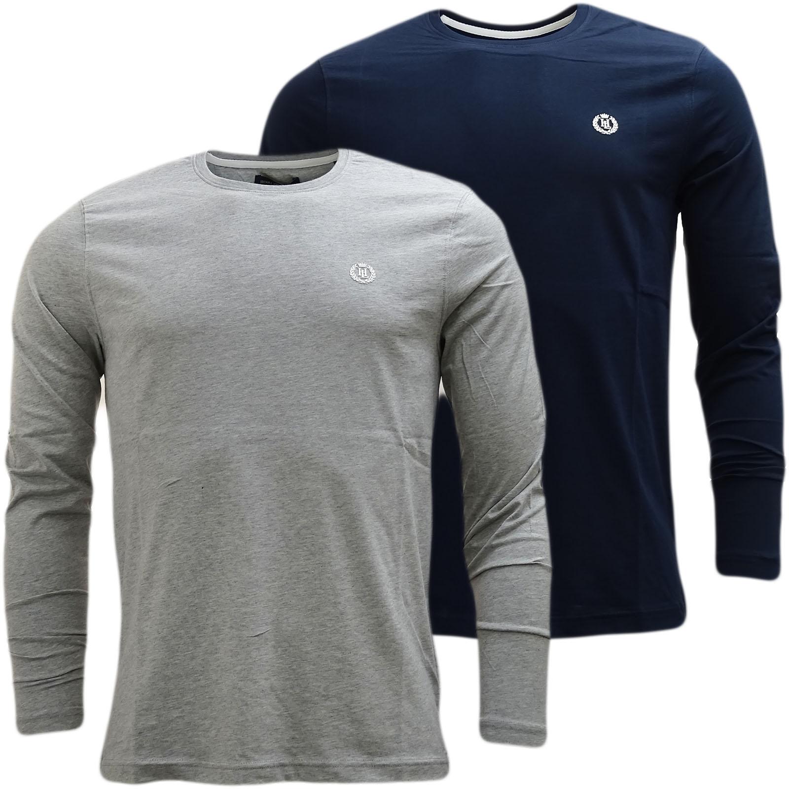 Henri Lloyd Plain Long Sleeve Long Sleeve T-Shirt Radar Long
