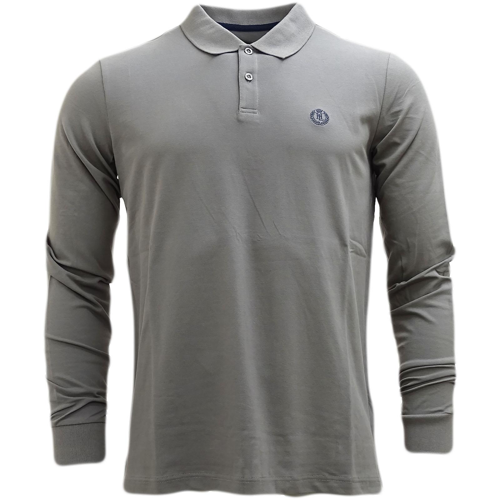 035f2ba1959 Sentinel Henri Lloyd Plain Lightweight Long Sleeve Polo Shirt - Musburry