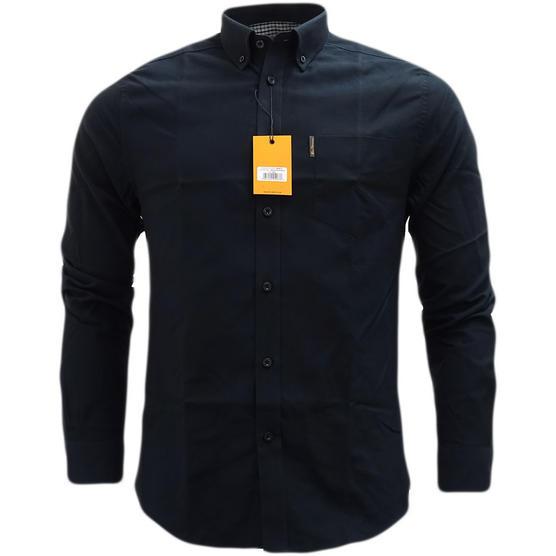 Ben Sherman Plain Oxford With Check Under Cuffs Shirt 48578 Thumbnail 6