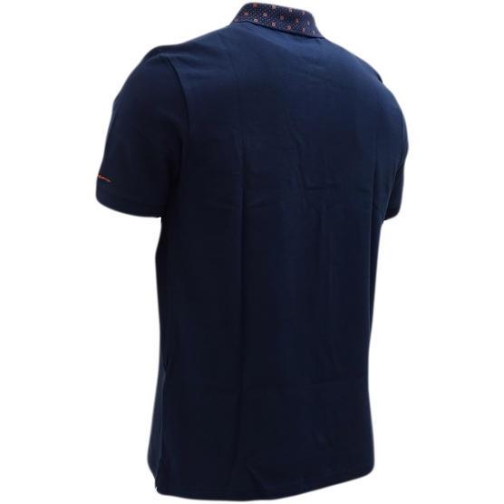 Ben Sherman Navy Target Collar Design Polo Shirt 48282 - Thumbnail 2
