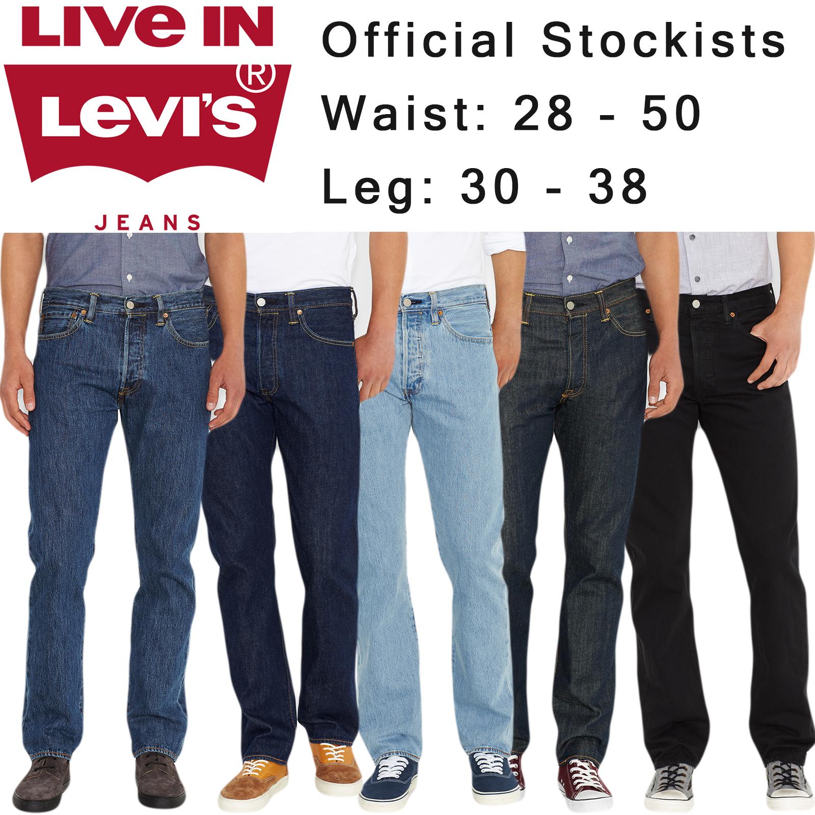 Sentinel Mens Levi s 501 Denim Jean   Official Levi Strauss 501 Jeans 8a63c417c1