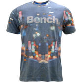 Bench Blue City Lights T-Shirt Blmg001210 -