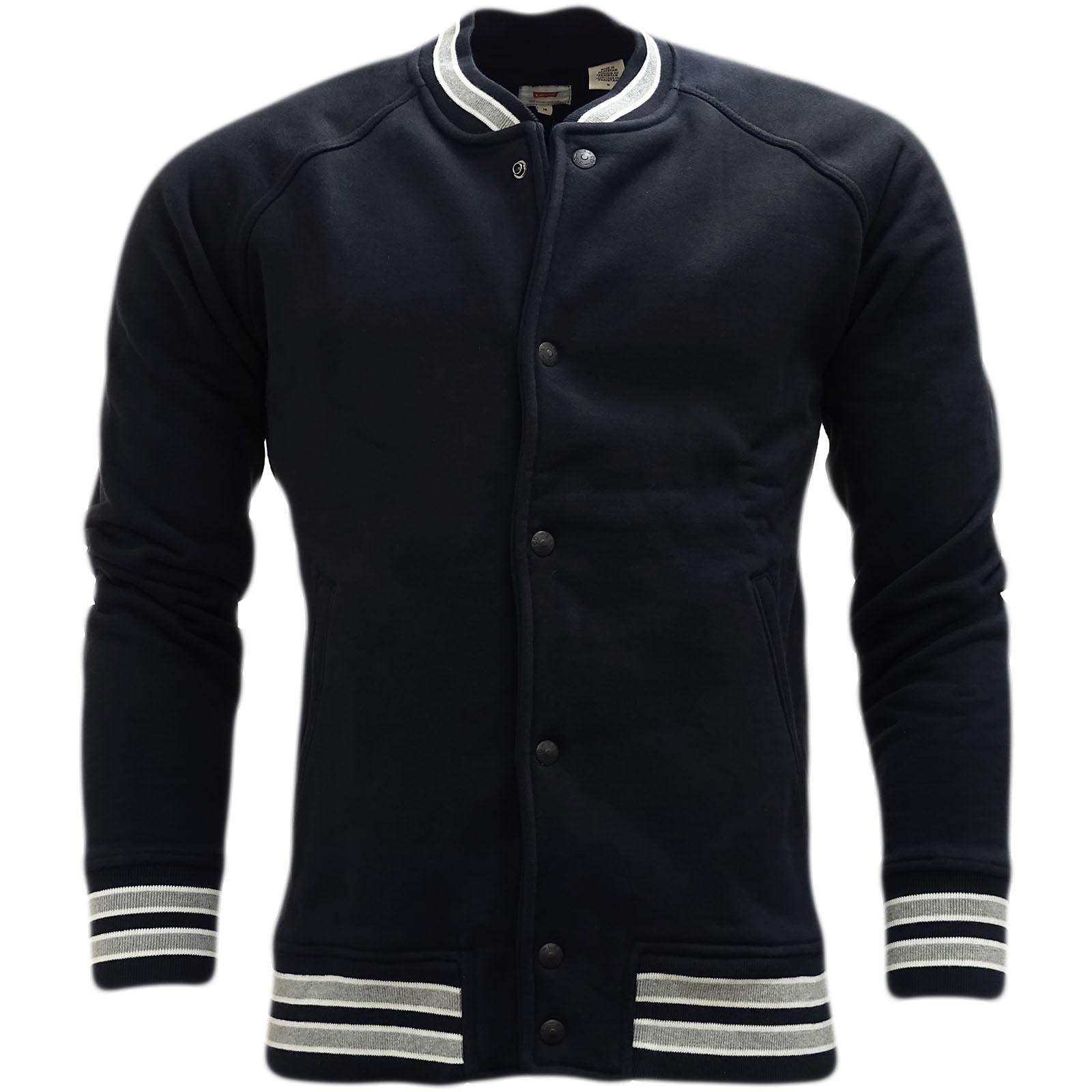 Jacket Levi Popper Varsity 0007 Strauss 27516 Avant Cavalier Noir wCOPcXxCSq