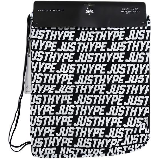 Hype Black / White Bag Drawstring Just Hype Thumbnail 2