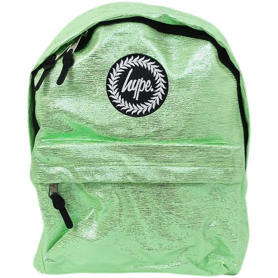 Hype Rucksack Thin Stripe Foil Bag Slime Foil Thumbnail 1