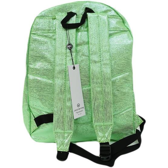 Hype Rucksack Thin Stripe Foil Bag Slime Foil Thumbnail 2