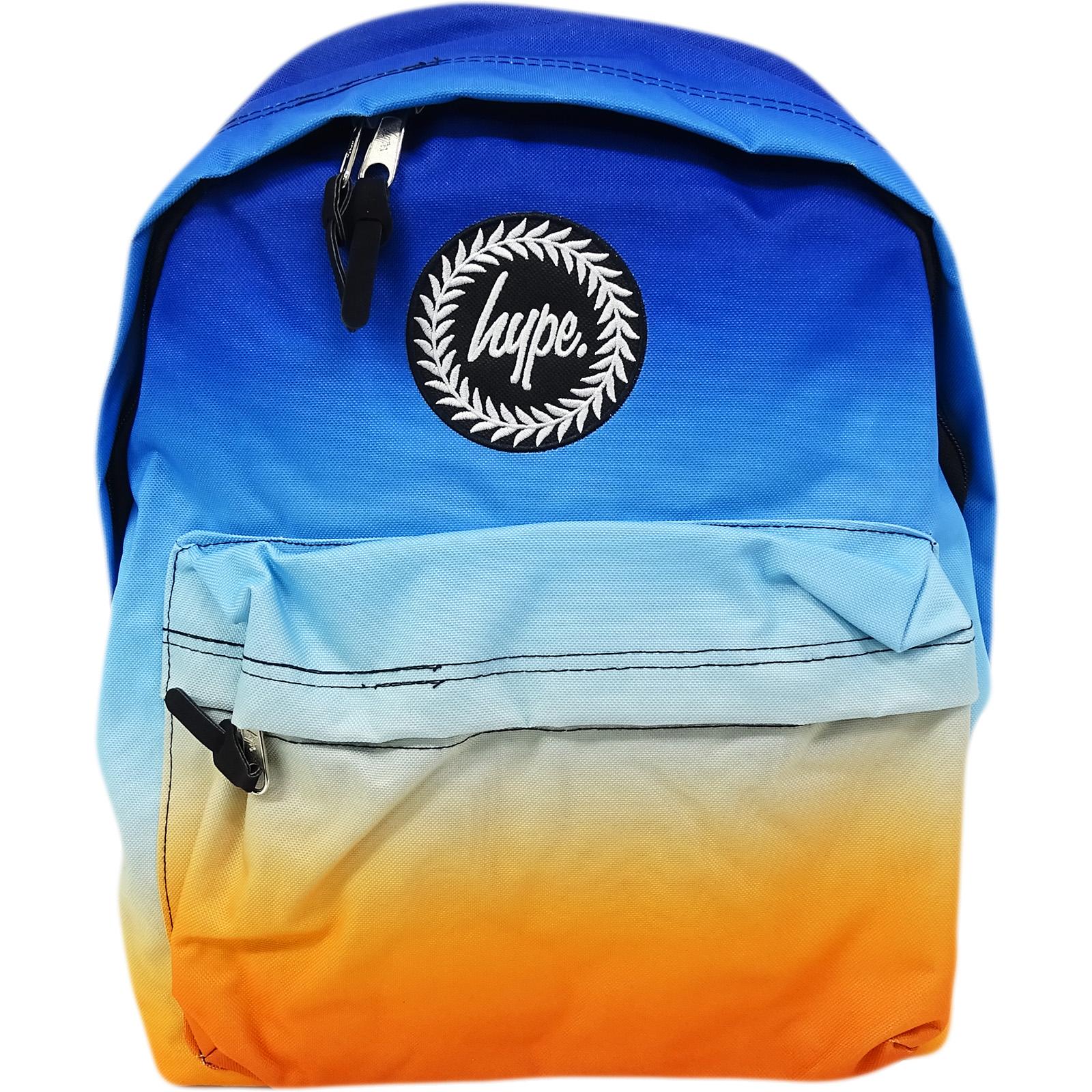 Hype Rucksack Blue / Orange Gradient Fade Bag Ocean Haze
