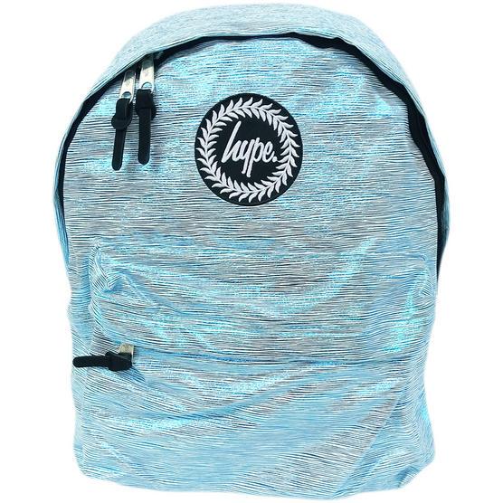 Hype Rucksack Thin Stripe Foil Bag Sky Foil Thumbnail 1