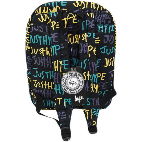 Hype Rucksack Graffiti Bag Hand Style (Multi Colour Thumbnail 2
