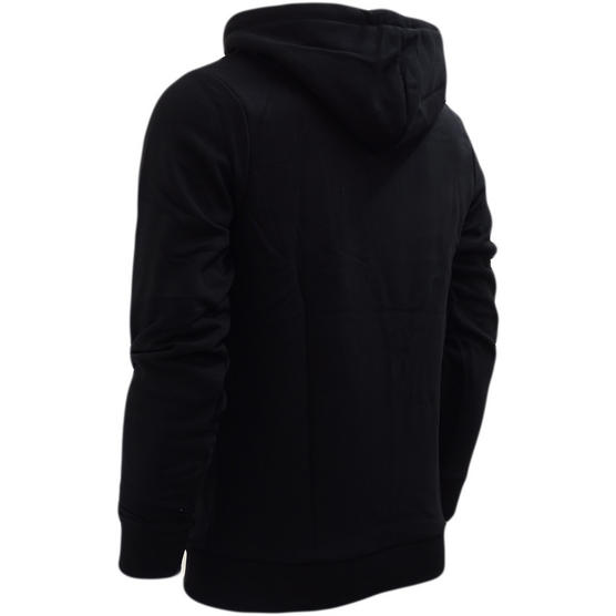 Hype Black Overhead Hooded Sweatshirt Jumper Patch Square - Thumbnail 2