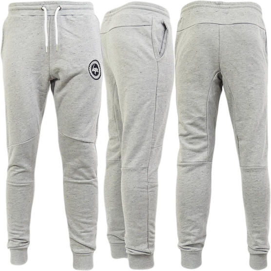 Hype Grey Speckled Slim Fit Tapered Jogger / Sweatpant Flec Crest - Thumbnail 1