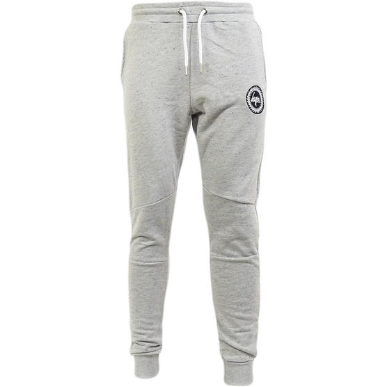 Hype Grey Speckled Slim Fit Tapered Jogger / Sweatpant Flec Crest - Thumbnail 2