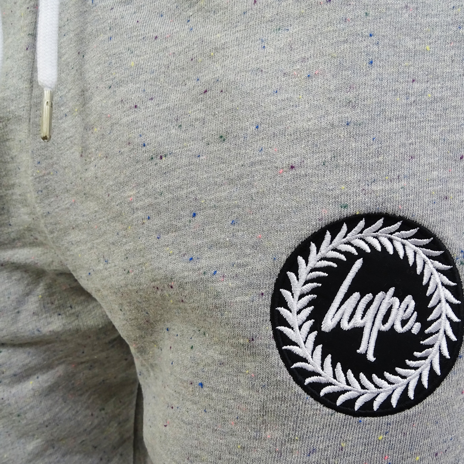 Hype-grau gesprenkelte Slim Fit konische Jogger   Sweatpant - - - Flec Crest b0c97c