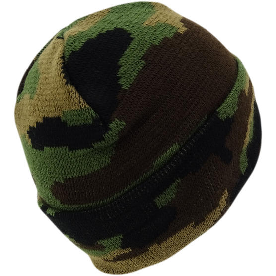 Hype Multi Camouflage Winter Beanie / Winter Headwear Forest Camo Thumbnail 2