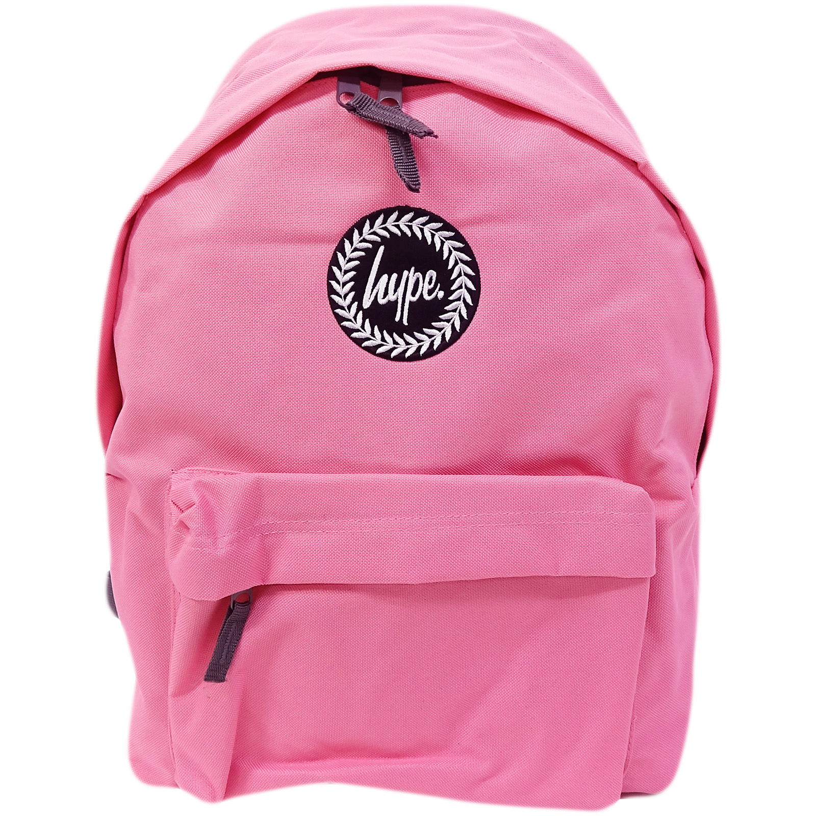 Just Hype Backpack Plain True Pink Bag 5056120681747  9b8b91b72124c