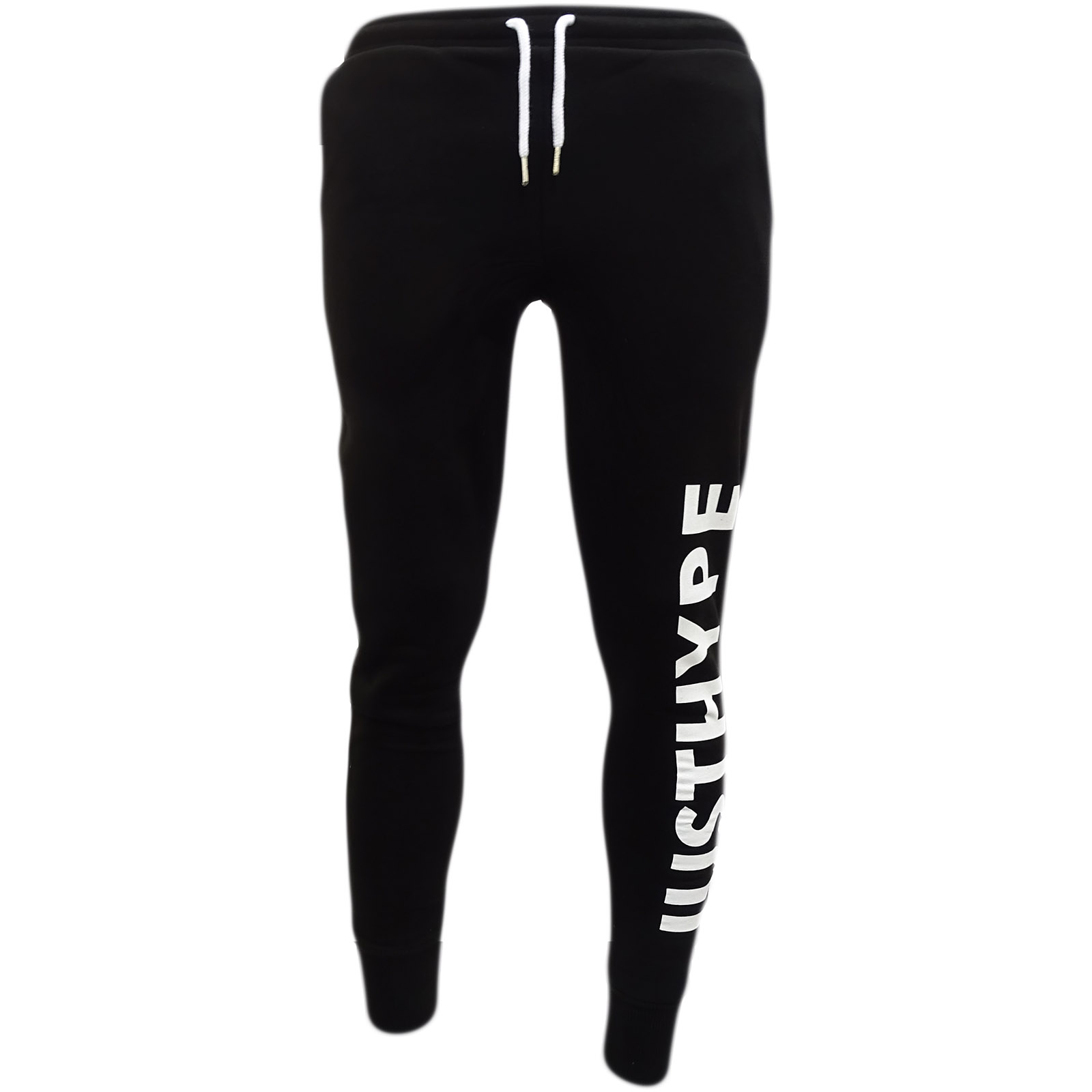 Hype Black / White Womens / Girls Jogger Jogger / Sweatpant Big - 067 -