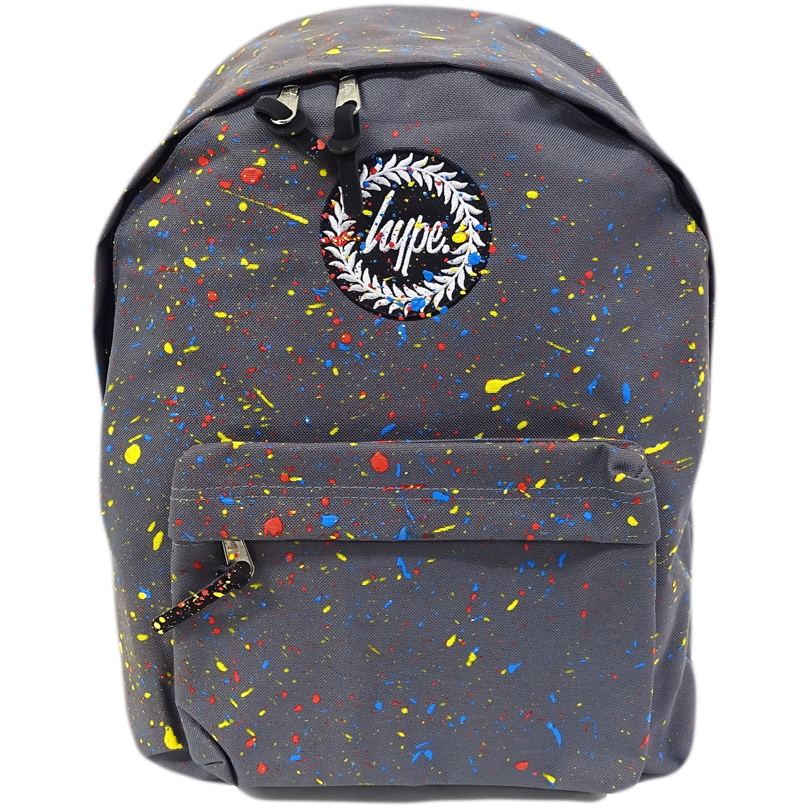 Hype Grey Multi Coloured Bag Primary Grey