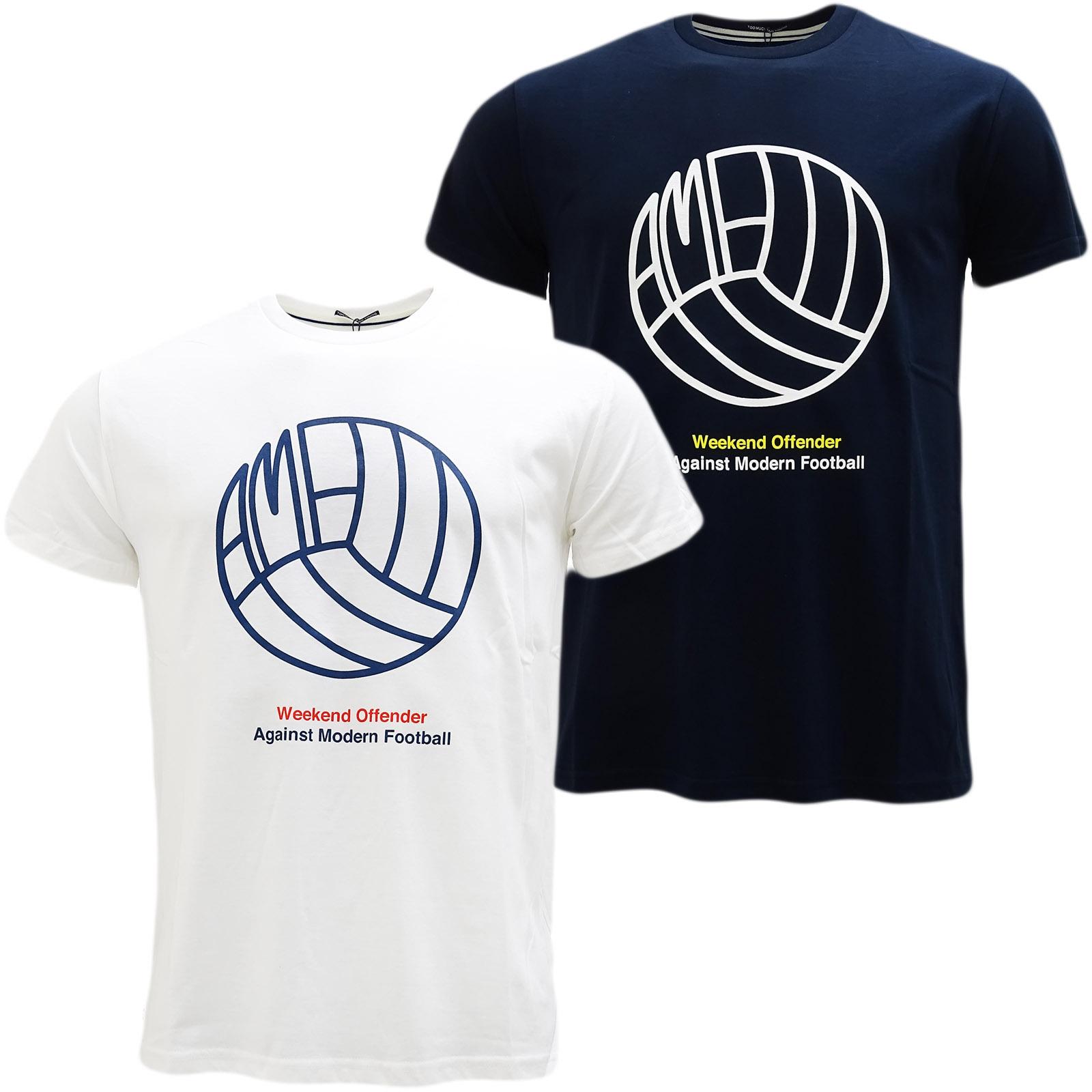 weekend offender football logo t shirt wotsb001 t shirts