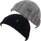 Original Penguin Plain Mottled Beanie / Winter Headwear 11179