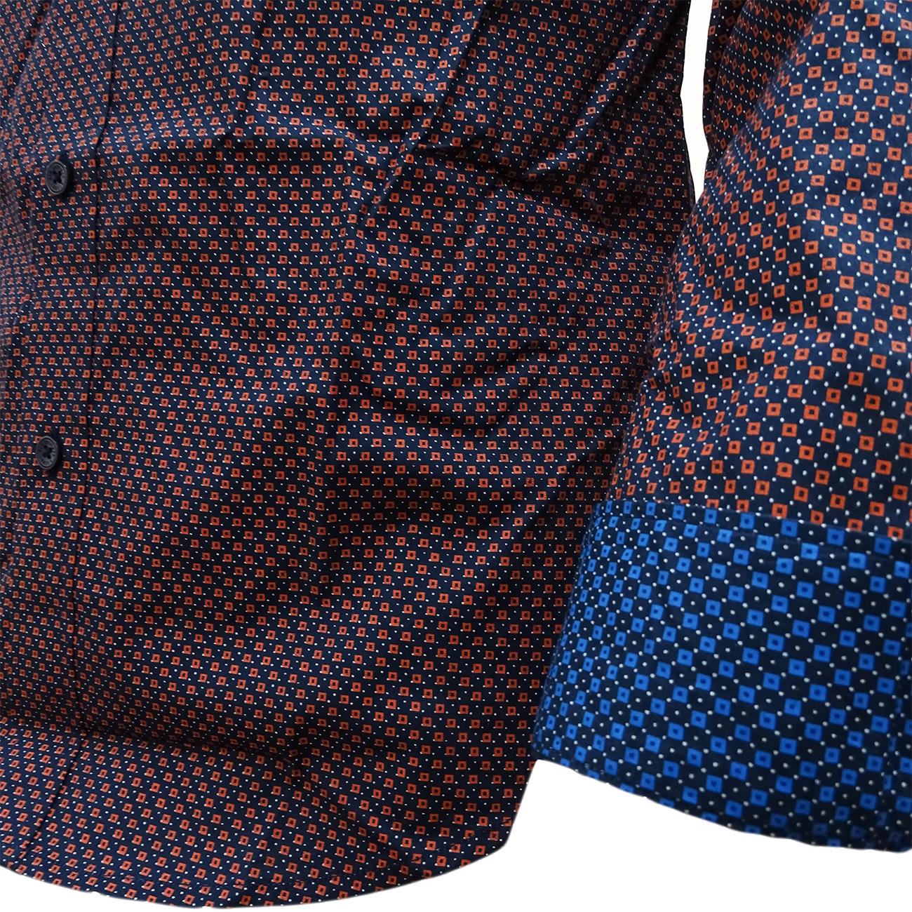 Ben Sherman Shirt - Mens Long Sleeve Sleeve Sleeve Shirts - S M L XL XXL  | Mangelware  446315