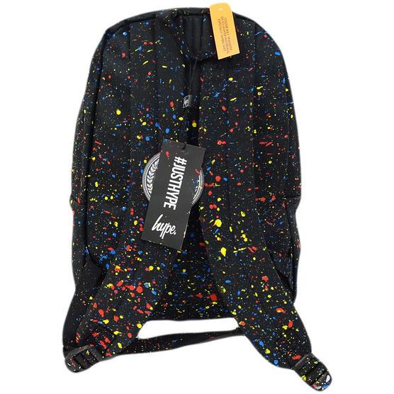 Hype Black Backpack / Rucksack Bag Primary Black Thumbnail 2