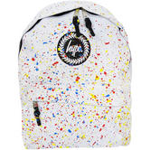 Hype White Backpack / Rucksack Bag Primary White