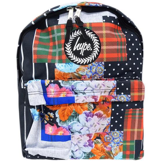 Hype Multi Backpack / Rucksack Bag Patchworx Thumbnail 1