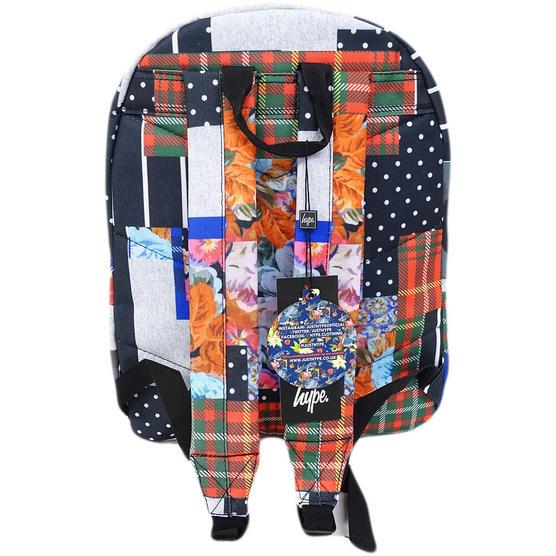 Hype Multi Backpack / Rucksack Bag Patchworx Thumbnail 2