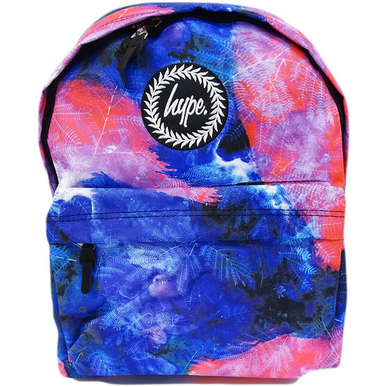 Hype Blue / Pink Backpack / Rucksack Bag Space Garden Thumbnail 1
