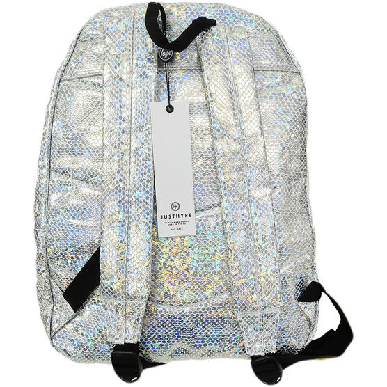 Hype Silver Backpack / Rucksack Bag Glitter Snake Thumbnail 2