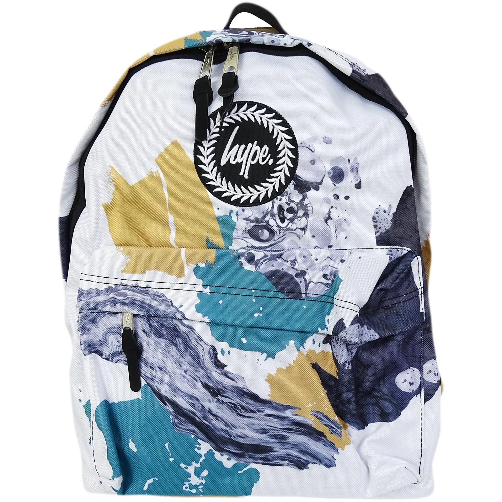 Hype White Backpack / Rucksack Bag Roke Flow (Rock