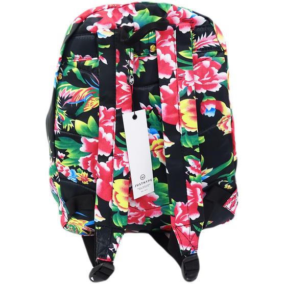 Hype Pink Flower / Lightweight Material Backpack Bag Dragon Flower Thumbnail 2