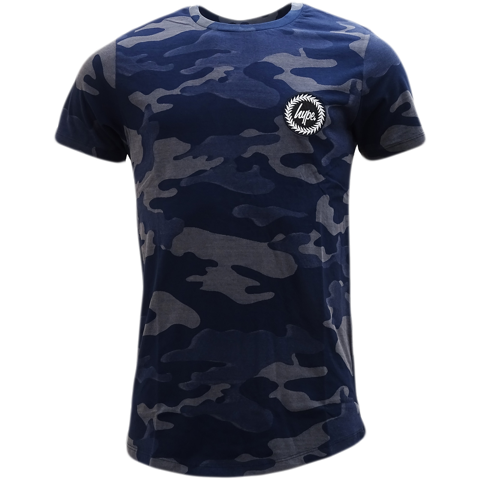3bbc774b Details about Hype Navy Camouflage T-Shirt - Laser Camo