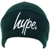 Hype Khaki Beanie / Winter Headwear Plain Script