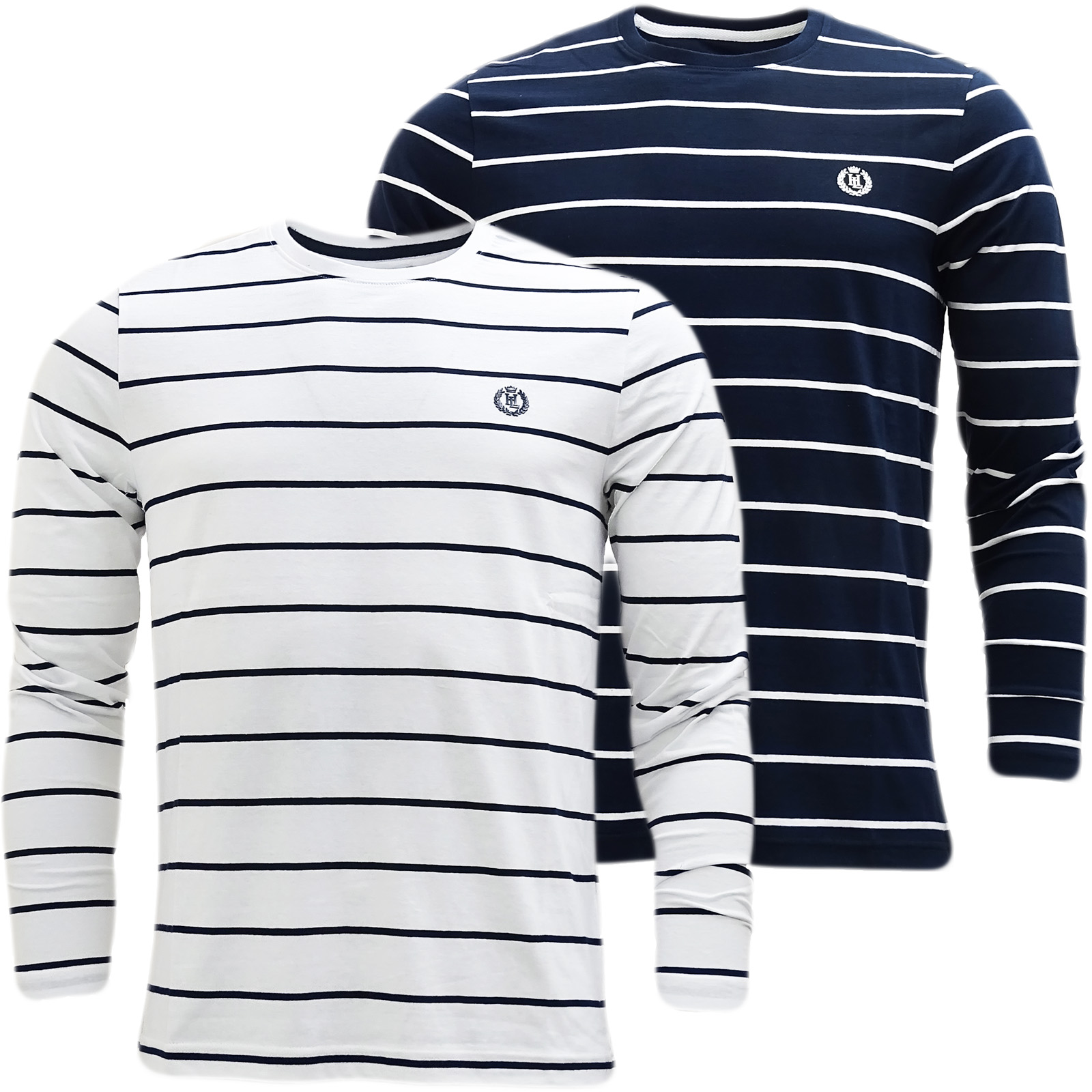 Henri Lloyd Striped Long Sleeve T-Shirt Bretton