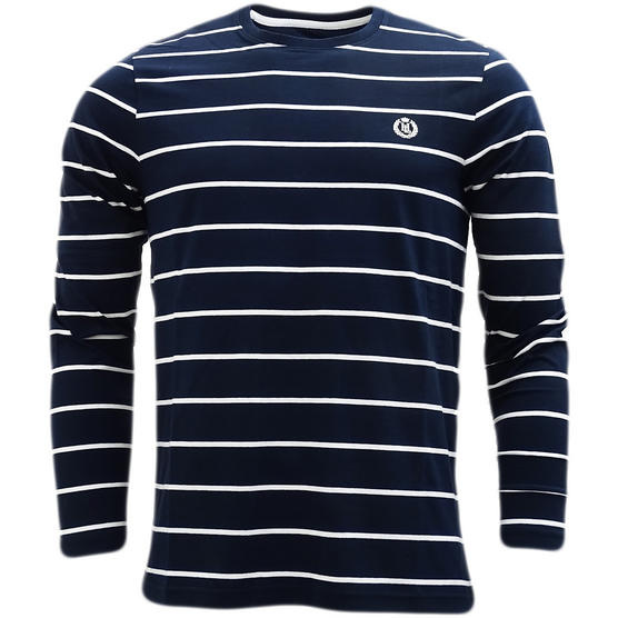 Henri Lloyd Striped Long Sleeve T-Shirt Bretton Thumbnail 2